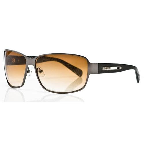 PLAYBOY-時尚太陽眼鏡(銀色)PB81010-9D