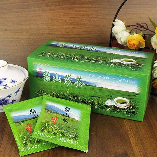 【醒茶莊】台灣精選-梨山高山袋茶(顆粒狀)4盒(附提袋*2)