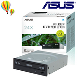 ASUS 華碩 DRW-24D3ST SATA 24X DVD燒錄機(黑)