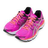 【女】Asics亞瑟士 專業慢跑鞋 GEL-OBERON 10 桃橘黑 T5N6N-3593