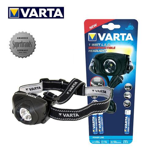 VARTA德國華達 全防護 型 1W強光頭燈 17731