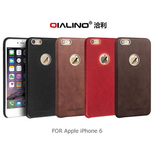 QIALINO Apple iPhone 6 真皮背套