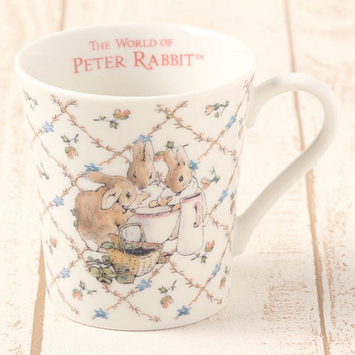 【クロワッサン科羅沙】Peter Rabbit~ 經典比得兔 PI馬克杯小兔