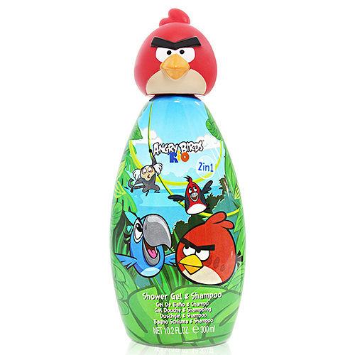 Angry Birds 紅色憤怒鳥 2合1沐浴洗髮精 300ml