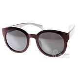 BCBGIRLS太陽眼鏡 輕量METALITE水銀 (酒紅-銀) #AQUA C42