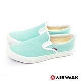 AIRWALK(女) - 滿點活力 馬卡龍調和色系 帆布鞋 - 馬卡綠