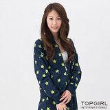【TOP GIRL】星勢力女孩飛鼠袖外套-女(星空藍)