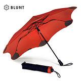 【紐西蘭BLUNT 保蘭特】抗強風防反傘抗UV時尚雨傘(折傘 XS_Metro動感紅)