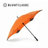 【紐西蘭BLUNT 保蘭特】抗強風防反轉抗UV時尚雨傘(直傘 CLASSIC 大號/扶桑橘)
