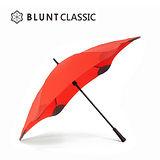 【紐西蘭BLUNT 保蘭特】抗強風防反轉抗UV時尚雨傘(直傘 CLASSIC 大號/動感紅)