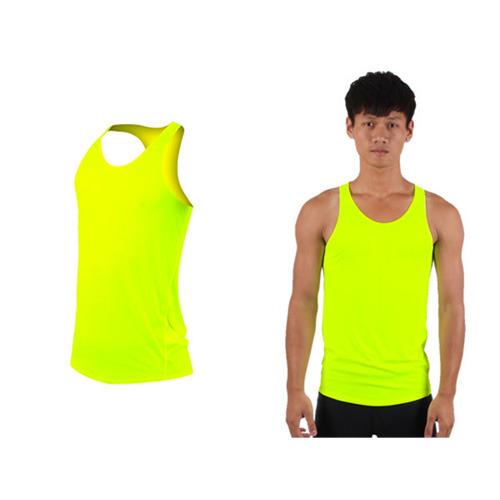 (男女) HODARLA 無感挖背背心-輕量 抗UV 0秒吸濕排汗 台灣製 螢光黃
