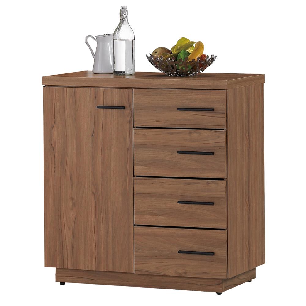 ~顛覆 ~堤比2.7尺柚木色餐櫃下座