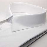 【金安德森】基本款白色窄版長袖襯衫