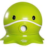 寶貝樂 可愛章魚幼兒馬桶學便器-綠色