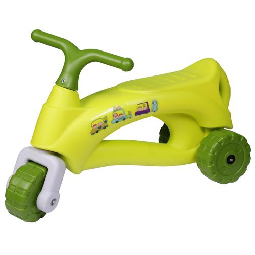 寶貝樂 法國號學步車/助步車-芥茉綠