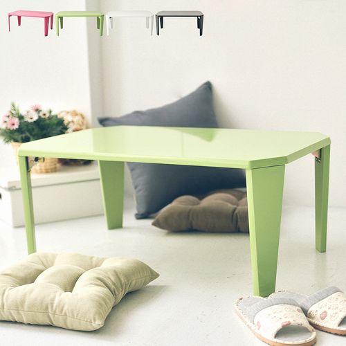 《Peachy life》鏡面設計可摺疊NB桌/和室桌/茶几桌/兒童書桌(4色可選)