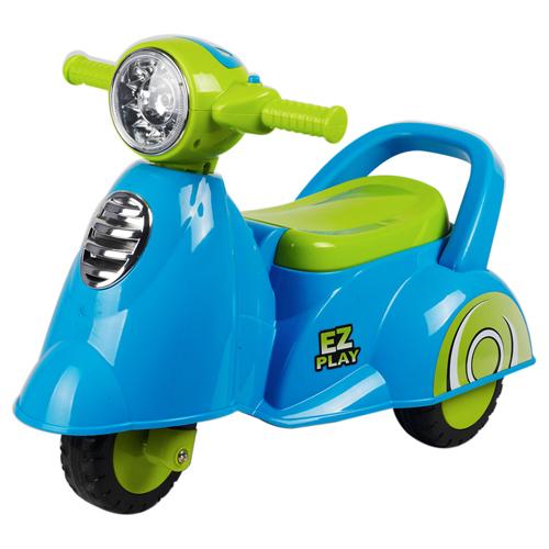 寶貝樂 motorcycle機車學步車/助步車-藍色