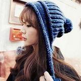 【PS Mall】 可愛毛線帽 冬天針織帽子 毛線帽 球球毛帽 (G1736)