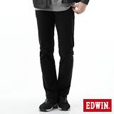 EDWIN EDGE中直筒保溫褲-男-黑色