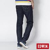 EDWIN 大尺碼 503 COOL RELAX天絲棉直筒褲-男-原藍色
