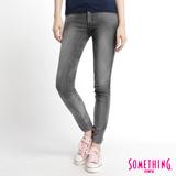 SOMETHING LADIVA合身牛仔褲-女-灰色