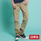 EDWIN 503 NARROW後染中直筒休閒色褲-男-灰卡其