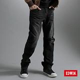 EDWIN XV-3D立體直筒牛仔褲-男-灰色