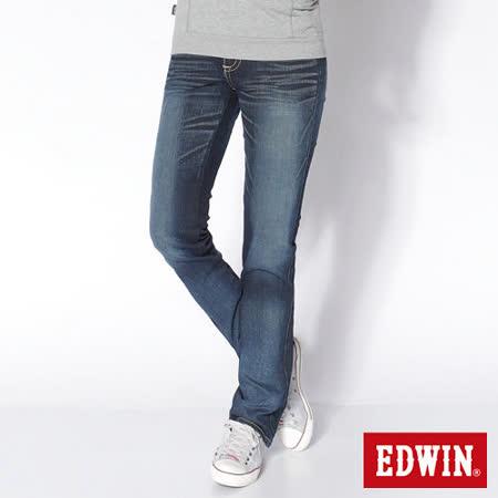 EDWIN 小直筒牛仔褲