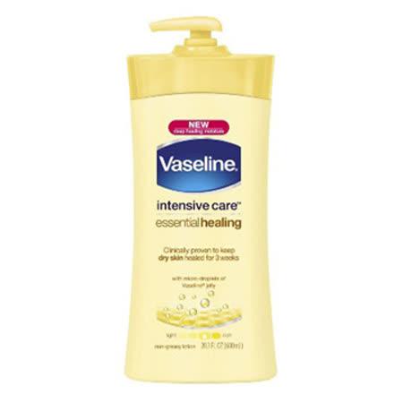 Vaseline凡士林潤膚乳液 (600ml)-燕麥滋養(黃瓶) -friDay購物