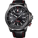 CITIZEN Prommaster GMT光動能極限挑戰腕錶-45mm BJ7076-00E