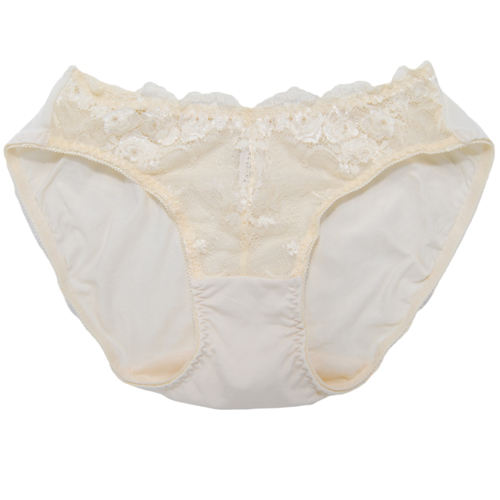 【Lofan露蒂芬】花嫁系列 美臀刺繡小褲 M.L.LL  柔黃  (SE3116-CRM)