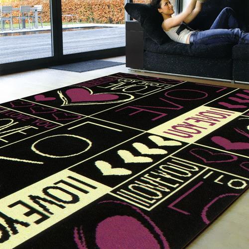 范登伯格 紐約★流行元素進口地毯-戀愛160x225cm