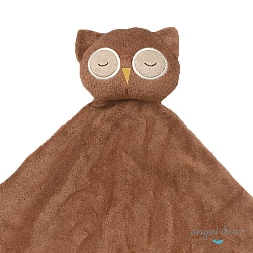 美國 Angel Dear 大頭動物嬰兒毛毯 (貓頭鷹)