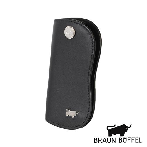 BRAUN BUFFEL 極簡系列素面單鎖包(黑色)BF179-311-BK