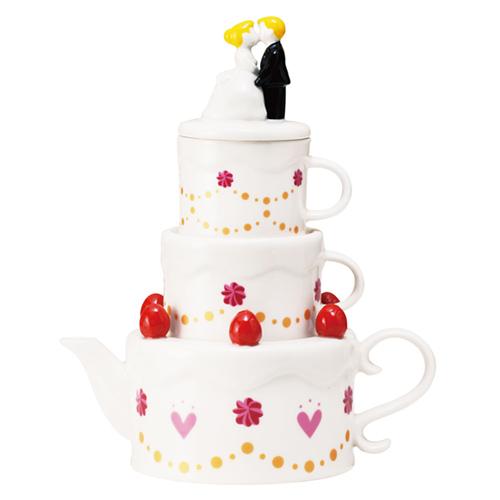 sunart 壺&對杯組 │ 新婚蛋糕