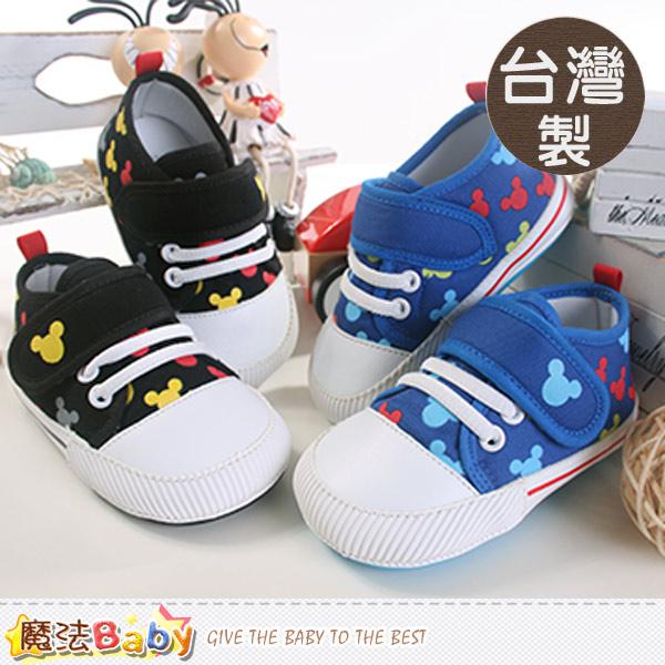 魔法Baby~台灣製迪士尼授權專櫃正品米奇寶寶鞋 sh7643