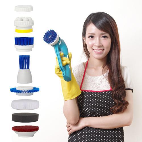 YOTO 悠樂 攜帶式一機多用防水清潔機/打蠟機/去角質按摩機 (ZY1392)