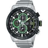 ALBA 疾速奔馳計時腕錶-黑/46mm VK67-X008D(AV6047X1)