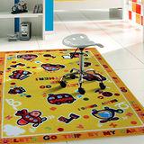 范登伯格 卡哇伊兒童學習小地毯-車車噗噗100x130cm