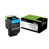 Lexmark 708C 青色碳粉匣 / 70C80C0,CS310,CS410