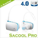 Avantree Sacool Pro 防潑水入耳後掛式運動藍芽4.0耳機(AS8P)-白