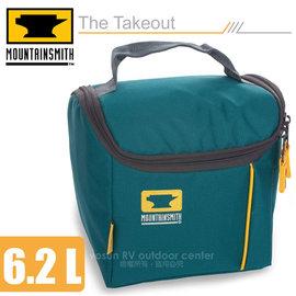 【美國 MountainSmith】The Takeout 便當盒保溫袋(6.2L)/保溫提袋.保冰袋.手提包/適露營.野餐.健行.旅遊/藍 D47510050
