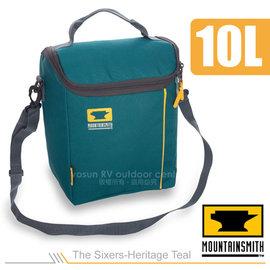 【美國 MountainSmith】The Sixers-Heritage Teal 保溫提袋(10L)/保冰袋.手提包.斜背包/適野餐.露營.健行/藍 D47509050