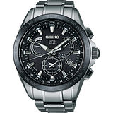 SEIKO ASTRON GPS衛星電波鈦金屬錶-黑/45mm 8X53-0AB0C(SSE045J1)
