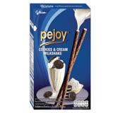 【glico 固力果】pejoy爆漿巧克力棒-香草黑餅乾棒 3盒/組