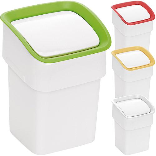 《TESCOMA》Clean雙掀式桌型垃圾桶(22cm)
