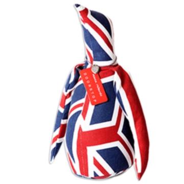企鵝造型動物紙鎮(英國國旗)
