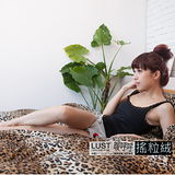LUST寢具【熱情豹紋/暖呼呼系列】珊絨毯/被套雙人6X7尺