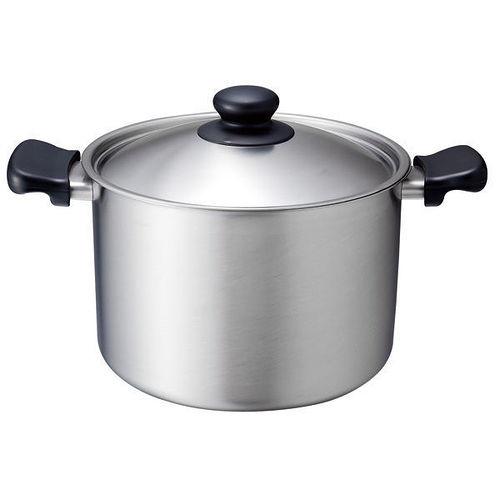日本製 日本知名品牌 柳宗理 不鏽鋼 霧面 22cm 高鍋