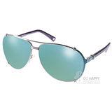 DIOR太陽眼鏡 飛官水銀鏡面款(螢光綠藍-棕) #CHICAGO2 1QWL3U